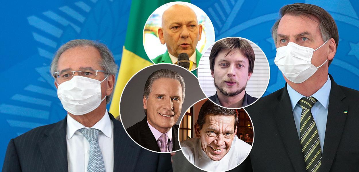 O que Roberto Justus, Junior Durski, Luciano Hang e Alexandre Guerra devem fazer neste momento para enfrentar a crise econômica