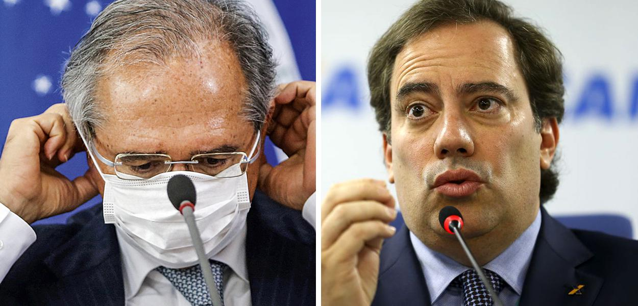Paulo Guedes e Pedro Duarte Guimarães