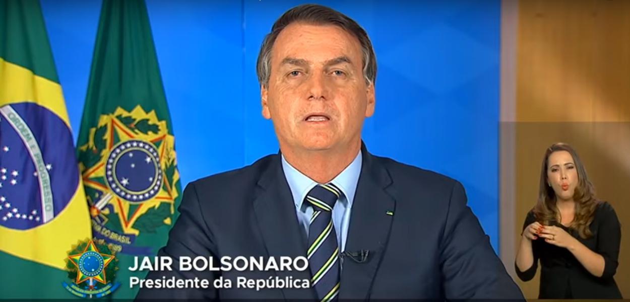 Em pronunciamento criminoso, Bolsonaro fala em gripezinha, pede para pessoas voltarem ao trabalho e ataca Drauzio Varella