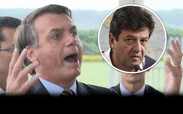Jair Bolsonaro e Ministro da Saúde, Luiz Henrique Mandetta