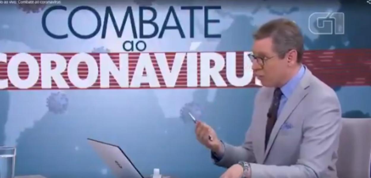 Márcio Gomes, na Globo