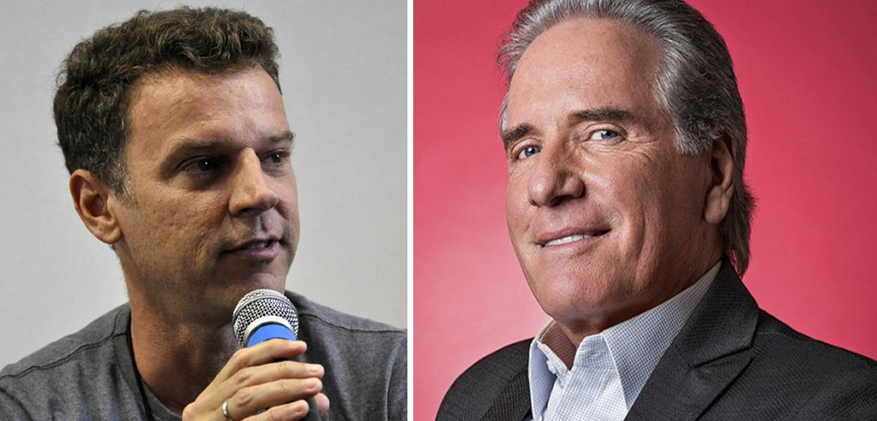 Eduardo Moreira e Roberto Justus