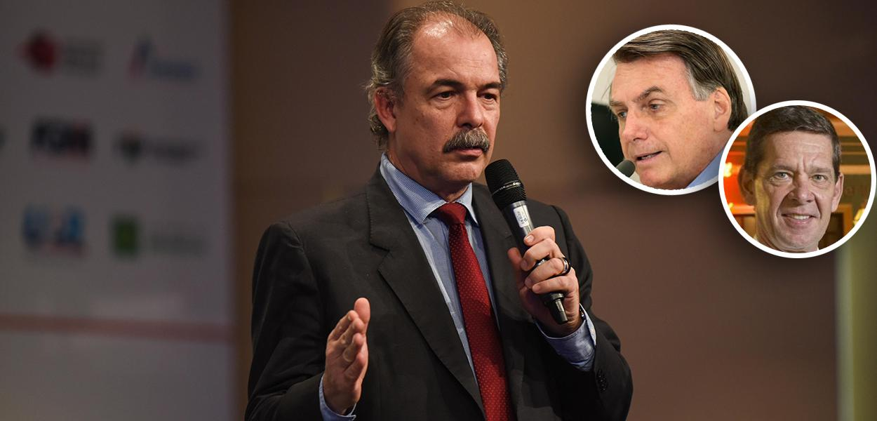 Aloizio Mercadante, Jair Bolsonaro e Junior Durski