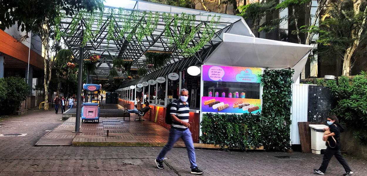 Quarentena em São Paulo em meio à crise do coronavírus