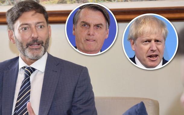 Vijay Rangarajan, Jair Bolsonaro e Boris Johnson
