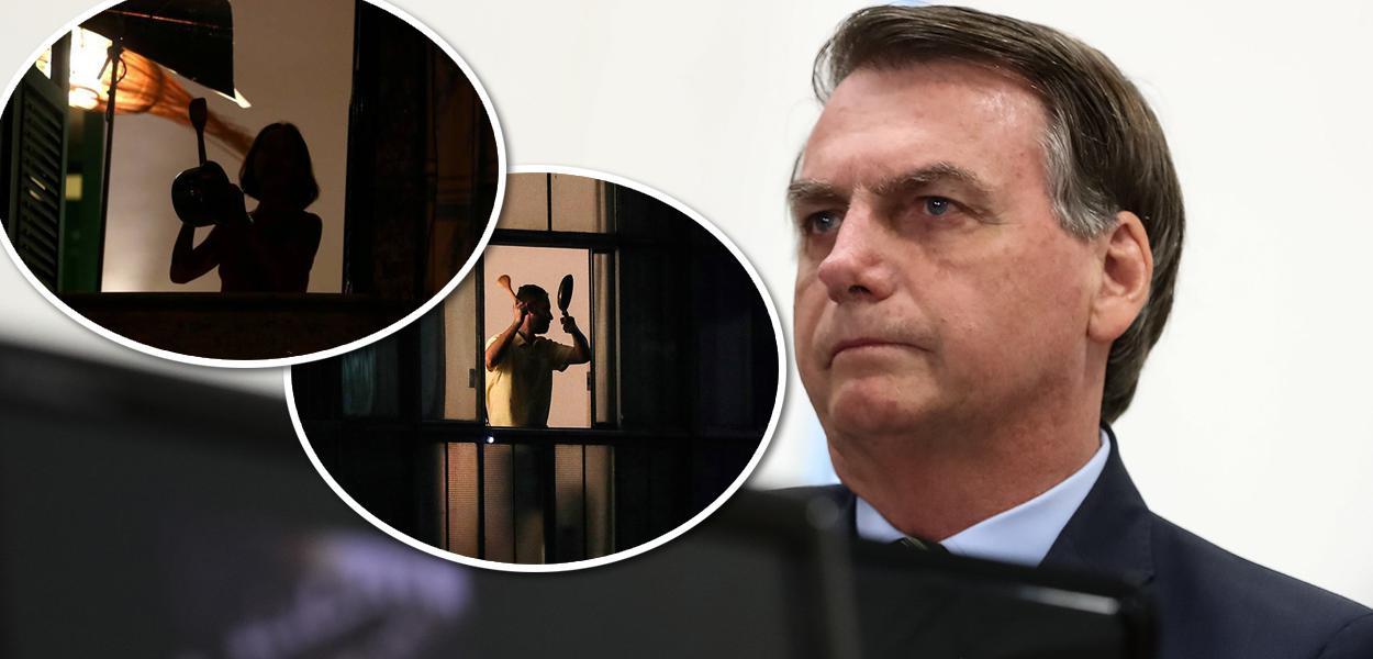 Panelaço; Jair Bolsonaro