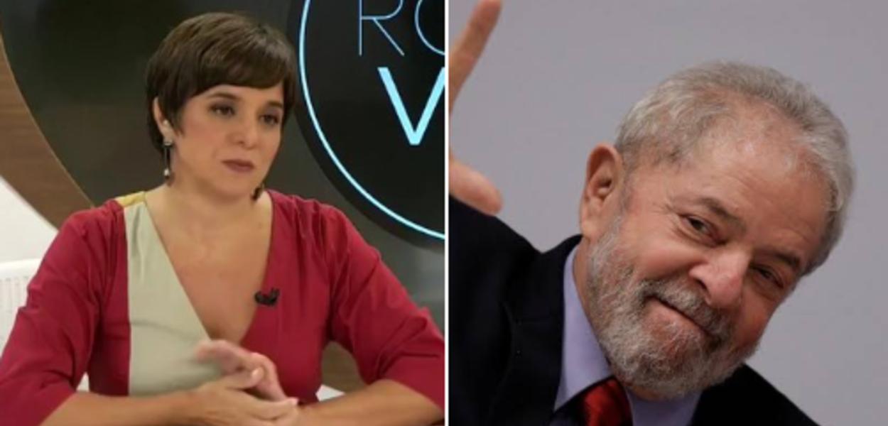 Vera Magalhães e Lula
