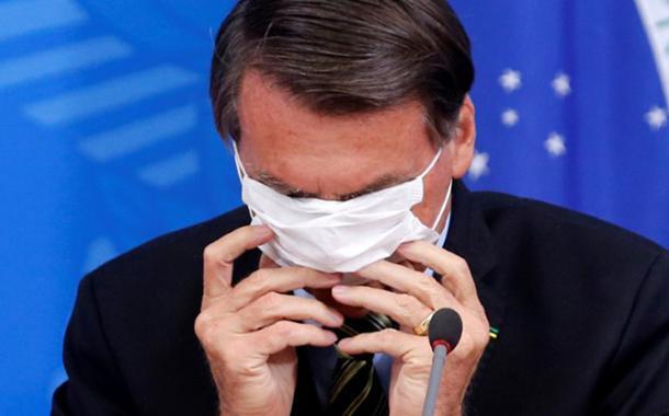 """Jair Bolsonaro disse que o coronavírus era apenas uma """"gripezinha"""""""