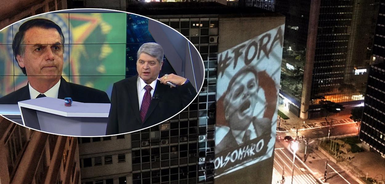 """Bolsonaro diz que """"não é hora de derrubar presidente"""". Os brasileiros discordam"""