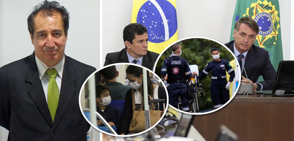 Celso Três, Sérgio Moro e Jair Bolsonaro