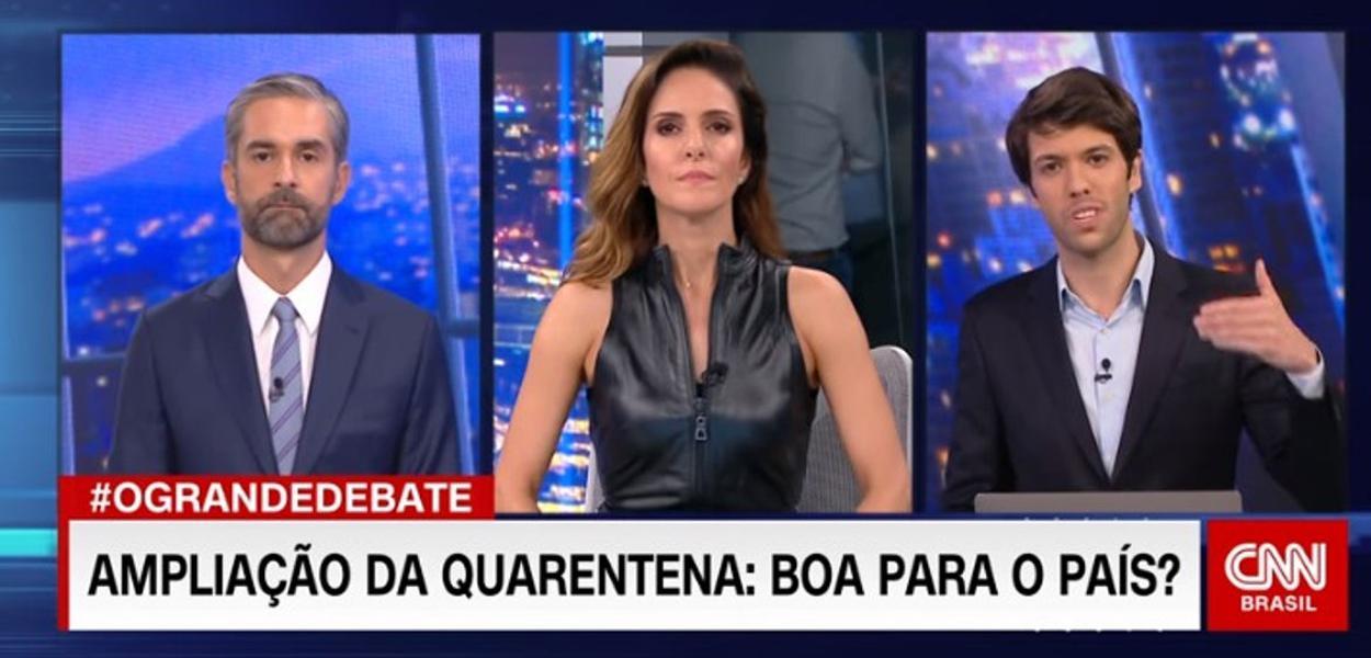 Caio Copolla leva invertida até da mediadora Monalisa Perrone