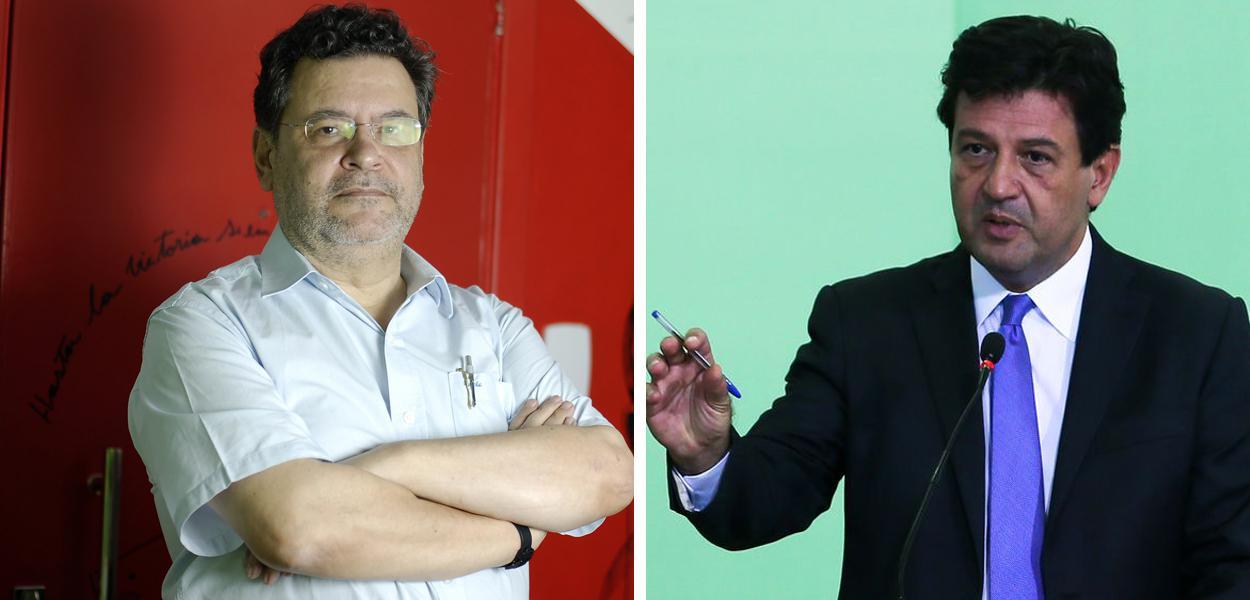 Rui Costa Pimenta (PCO) e Luiz Henrique Mandetta
