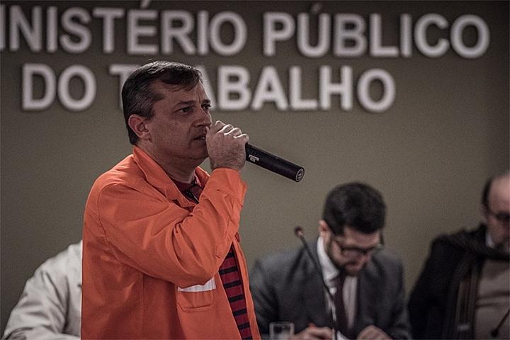 Mario Dal Zott é presidente do Sindicato dos Petroleiros do Paraná e Santa Catarina