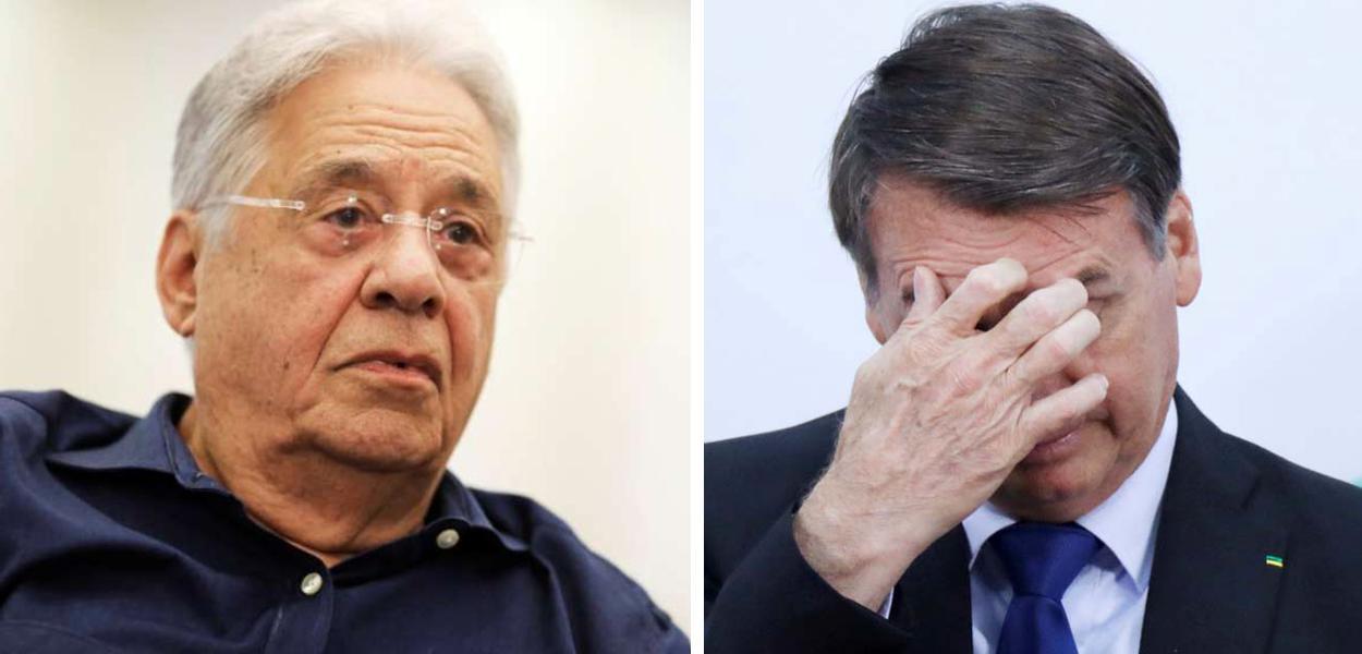 """""""Brasil vai sangrar mais três anos com Bolsonaro"""", prevê FHC"""