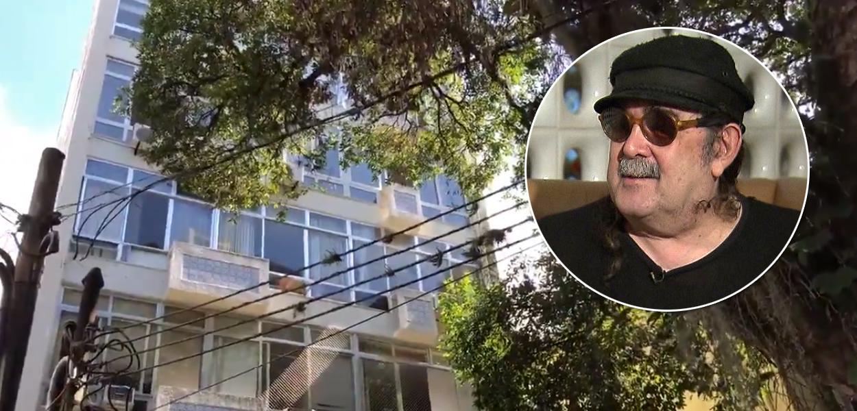 Vizinhos homenageiam o cantor Moraes Moreira, que morreu nesta segunda-feira (13), aos 72 anos