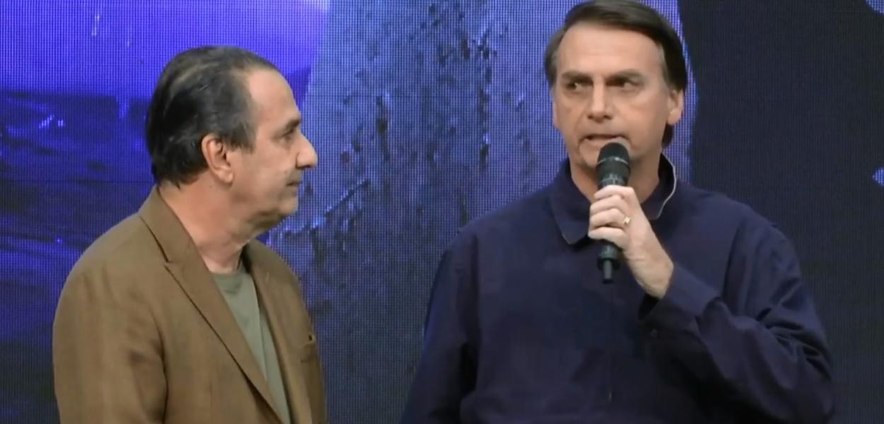 Empresário critica a mídia e defender Jair Bolsonaro