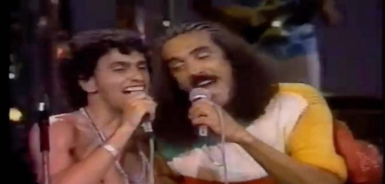 Caetano Veloso e Moraes Moreira