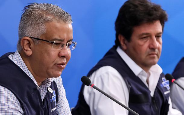 Wanderson Kleber de Oliveira e Luiz Henrique Mandetta