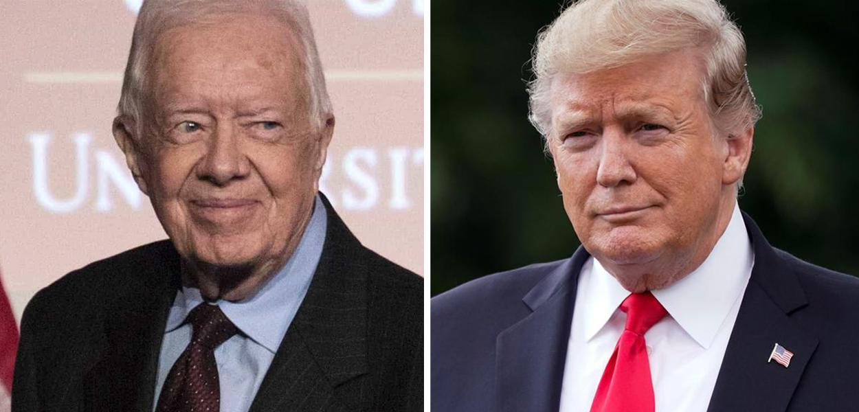 Trump e Jimmy Carter