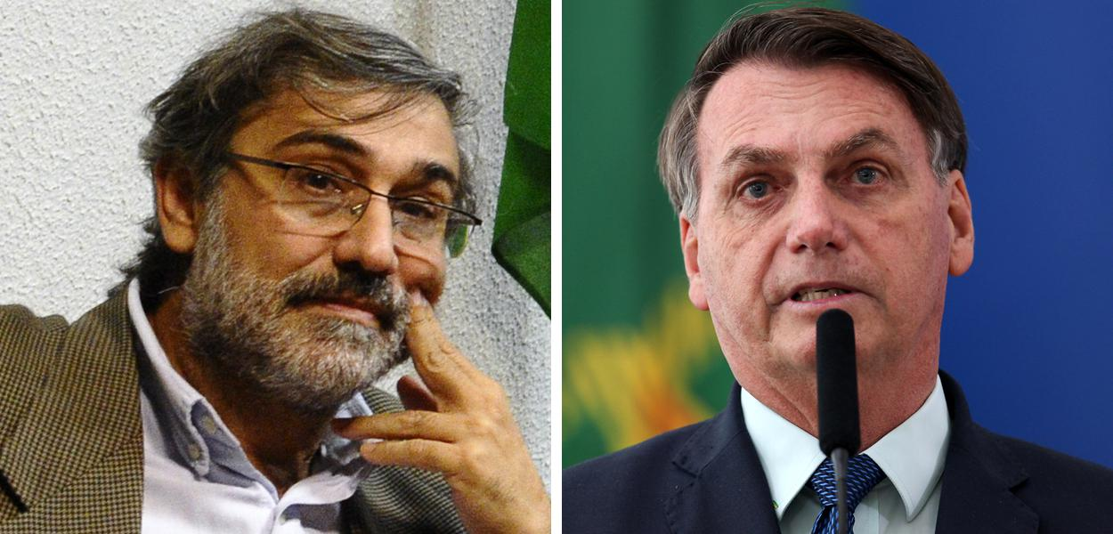 Mauro Iasi e Jair Bolsonaro