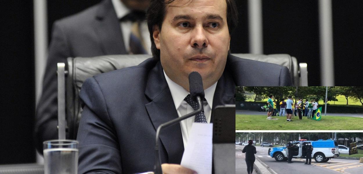 Bolsonaristas ignoram isolamento social, contrariando recomendações da OMS