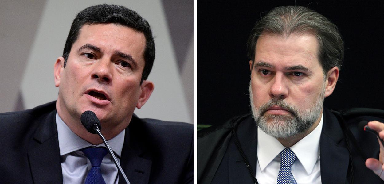 Sergio Moro e Dias Toffoli