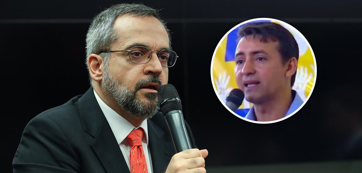 Abraham Weintraub e Josué de Oliveira Moreira