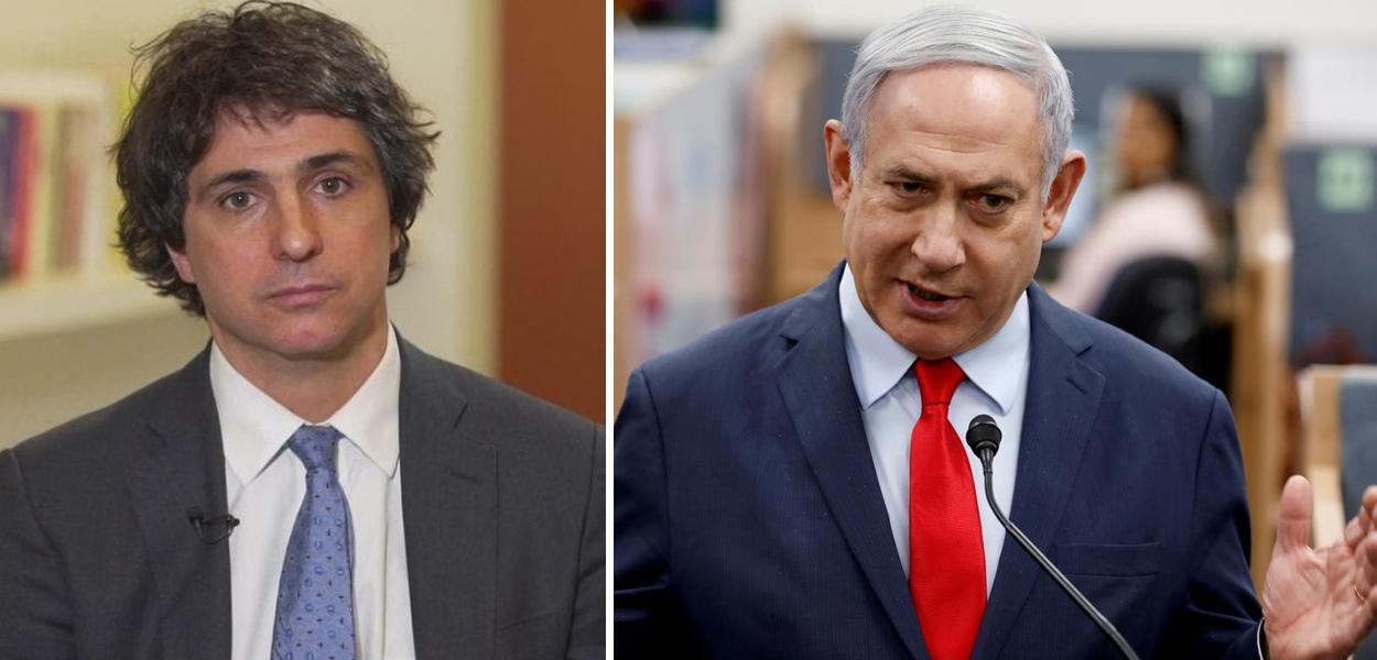 Guga Chacra e Netanyahu