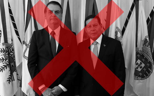 Jair Bolsonaro e Hamilton Mourão