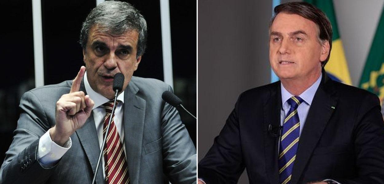 José Eduardo Cardozo e Jair Bolsonaro