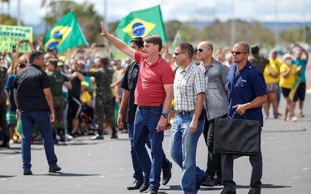 STF quer investigar participação de deputados pró-Bolsonaro em atos que pediam um golpe
