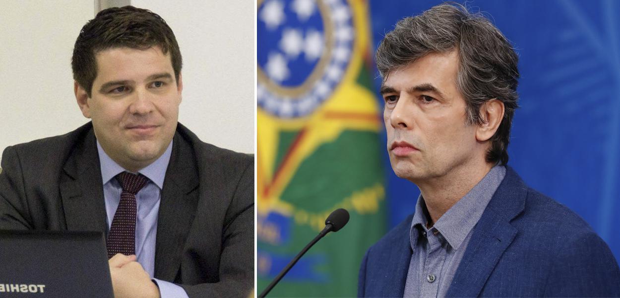 Marcelo Uchôa e Nelson Teich