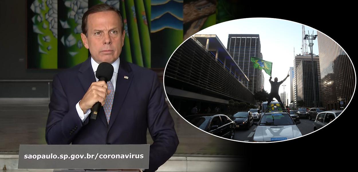 Carreata pro Bolsonaro e Doria