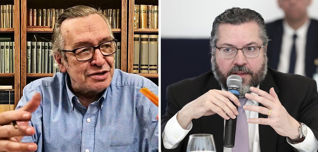 Olavo de Carvalho e Ernesto Araújo