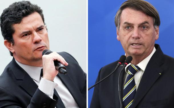 Sérgio Mroro e Jair Bolsonaro