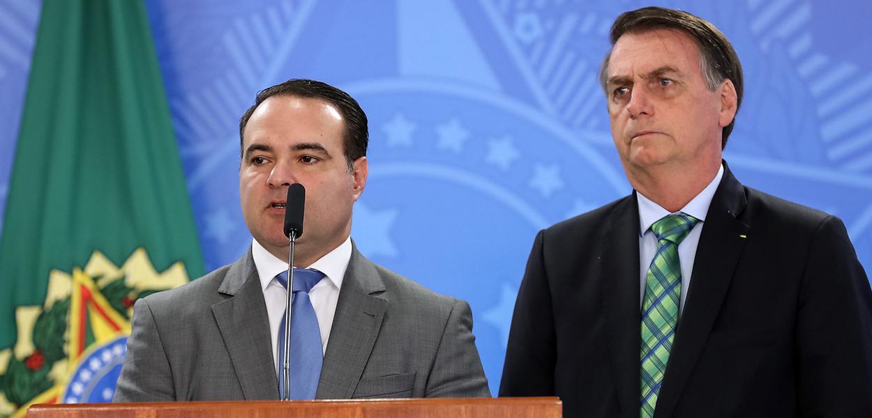 Jorge de Oliveira e Jair Bolsonaro