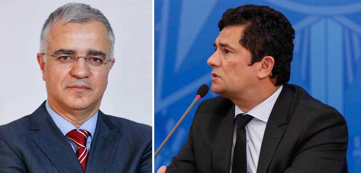 Kennedy Alencar e Sérgio Moro