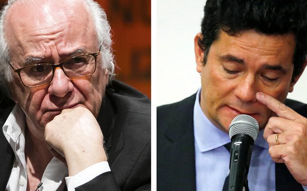 Boaventura Sousa Santos e Sérgio Moro