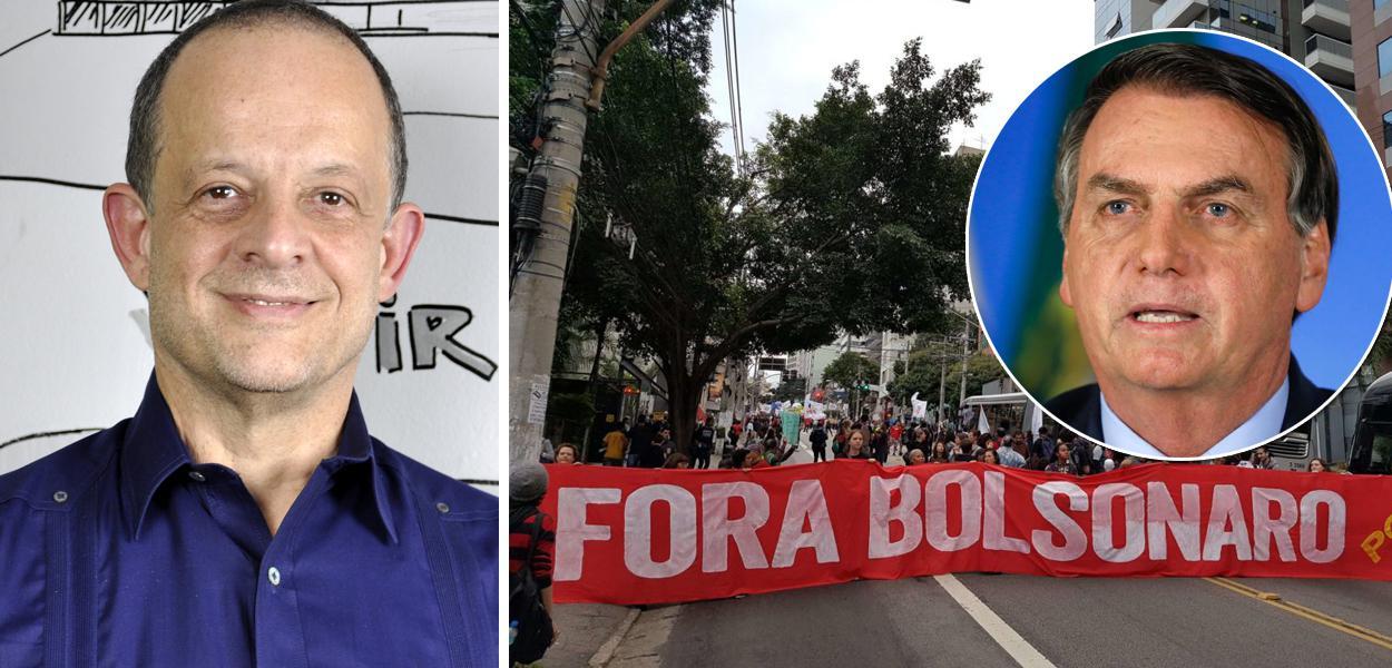 Breno Altman e Jair Bolsonaro