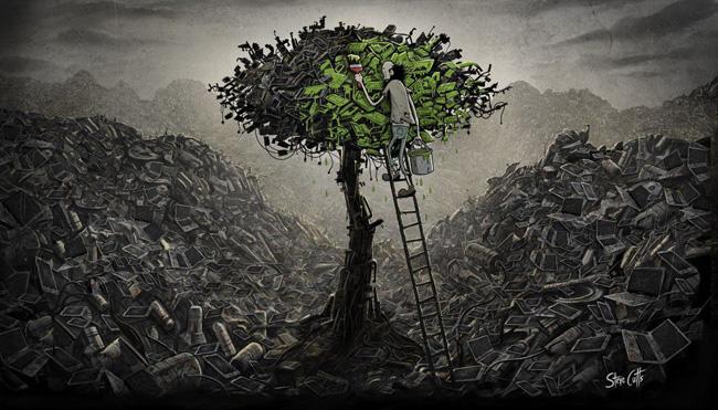 Árvore sobrevivente