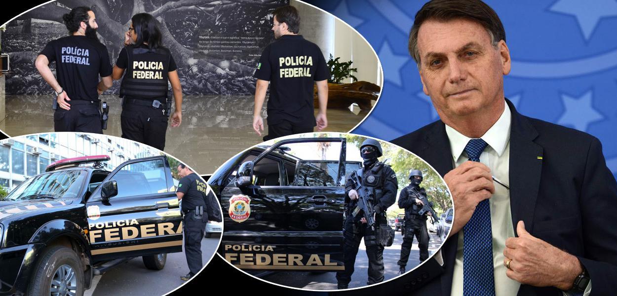 Jair Bolsonaro e Polícia Federal