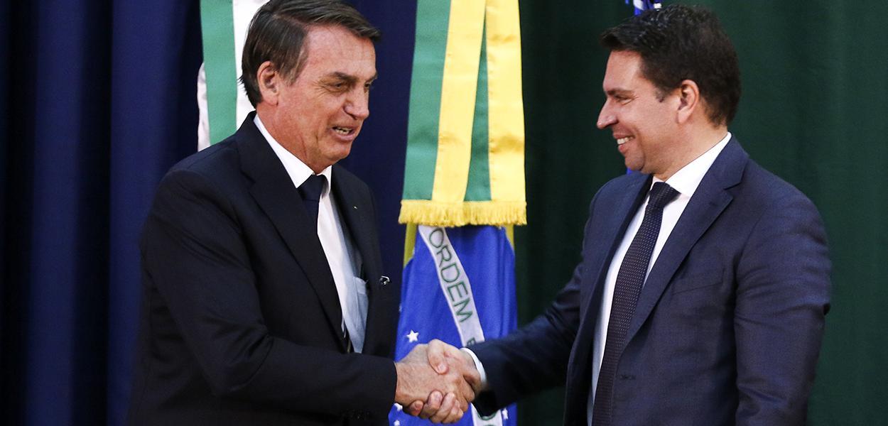 Jair Bolsonaro e Alexandre Ramagem