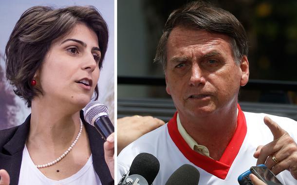 Manuela D'Ávila: Bolsonaro é um tuíte, não fala mais que 140 caracteres