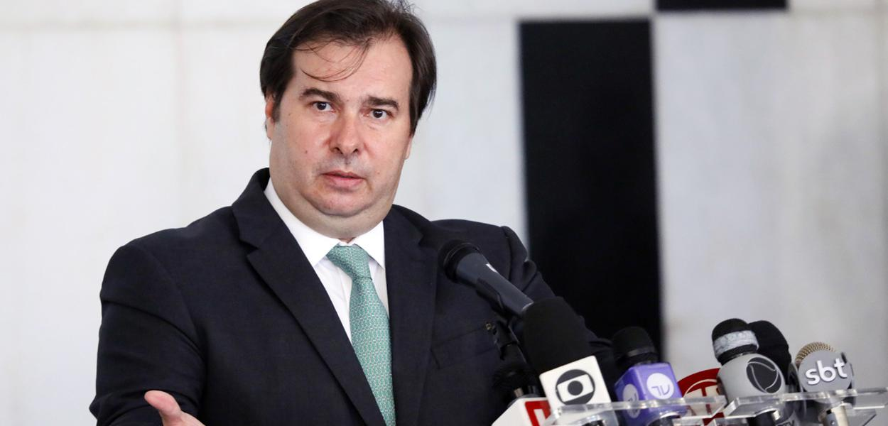 Presidente da Câmara dos Deputados, dep. Rodrigo Maia