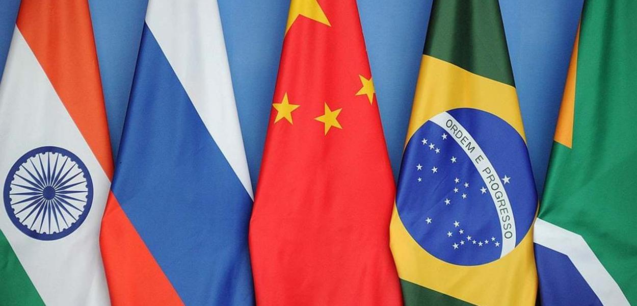 Bandeiras dos países do Brics