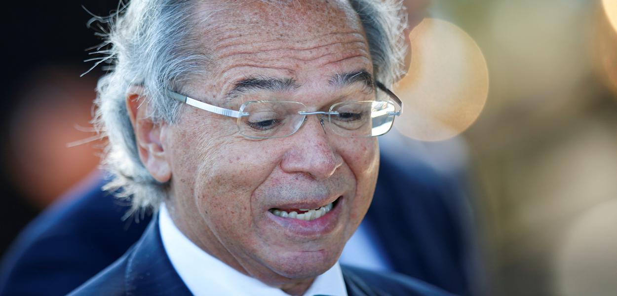 Ministro da Economia, Paulo Guedes, em Brasília27/04/2020 REUTERS/Ueslei Marcelino