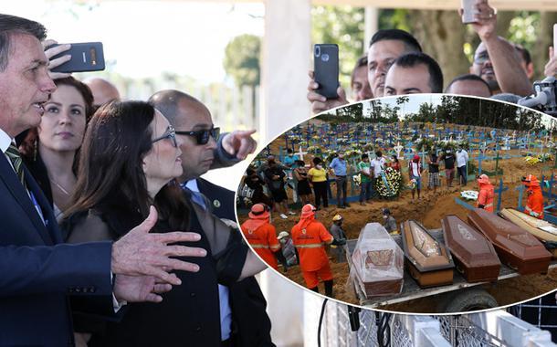 Presidente Jair Bolsonaro em Brasília 22/05/2020