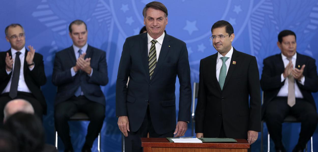 Jair Bolsonaro e José Levi