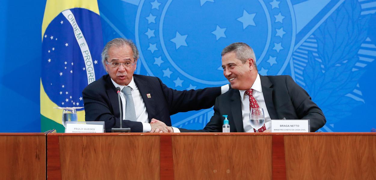 Paulo Guedes e Braga Netto