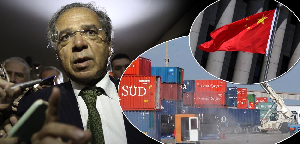 Paulo Guedes fez afirmações depreciativas sobre a China na reunião de 22 de abril